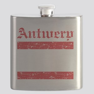 Antwerp coat of arms Flask