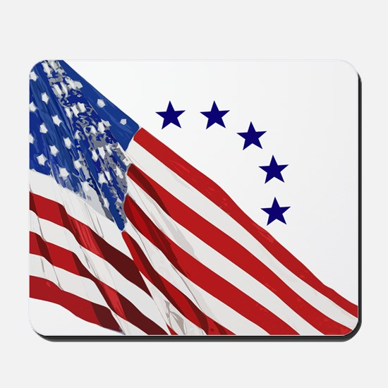 Old Glory Mousepad