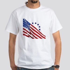 Old Glory White T-Shirt