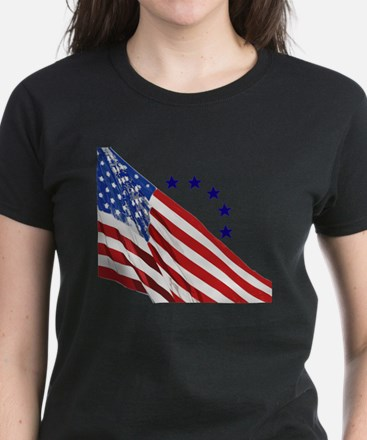 Old Glory Women's Dark T-Shirt