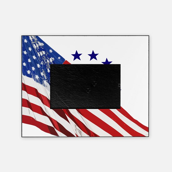 Old Glory Picture Frame