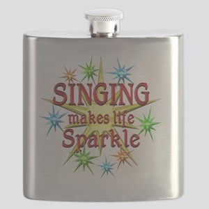 Singing Sparkles Flask