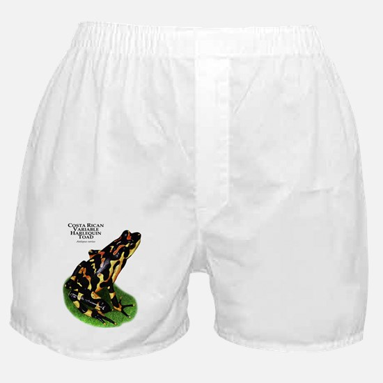 Costa Rican Variable Harlequin Toad Boxer Shorts