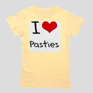 I Love Pasties Girl's Tee