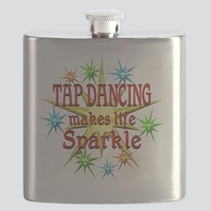 Tap Dancing Sparkles Flask
