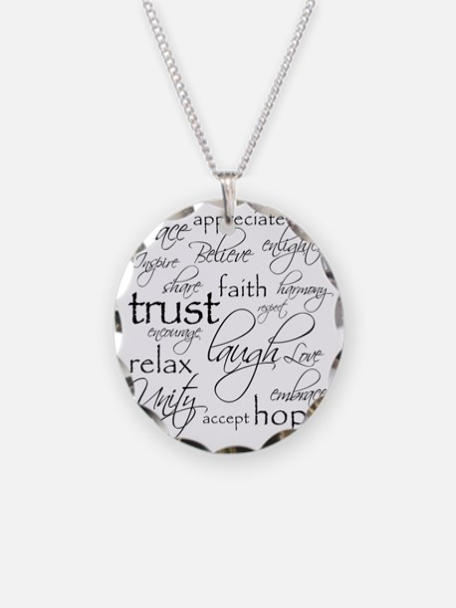 Positive Words - BL Necklace