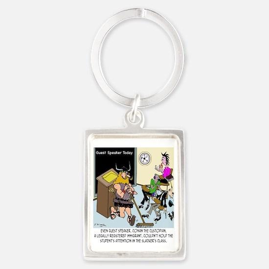 Conan The Custodian in Slacker C Portrait Keychain