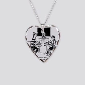 Make Up Words to Expand Vocab Necklace Heart Charm