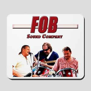 FOB Sound Company color t Mousepad