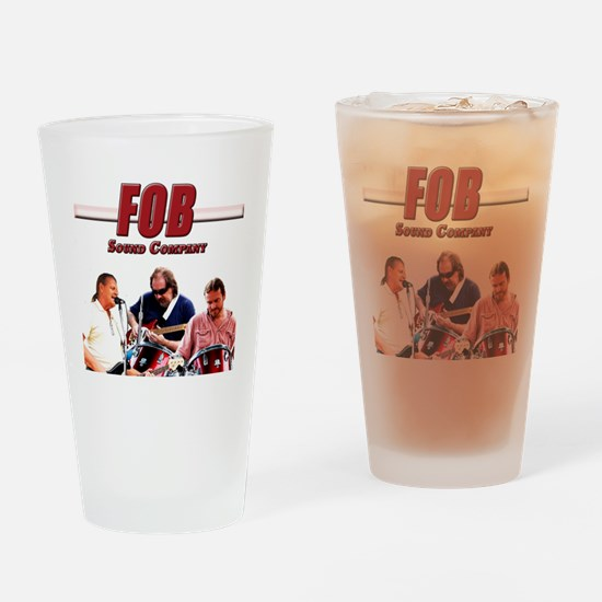 FOB Sound Company color t Drinking Glass