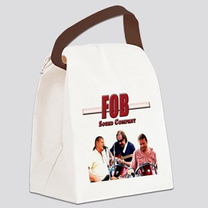 FOB Sound Company color t Canvas Lunch Bag
