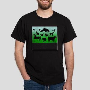 Thomas Edison Quote Dark T-Shirt