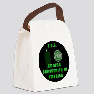 EPA  Ending Prosperity in America Canvas Lunch Bag