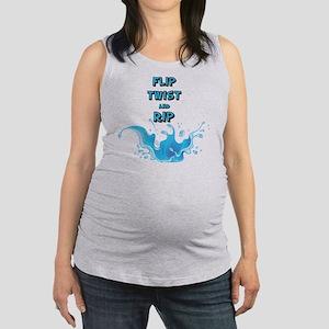 Flip, Twist and Rip Maternity Tank Top