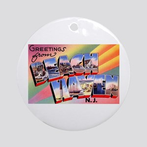 Beach Haven New Jersey Ornament (Round)
