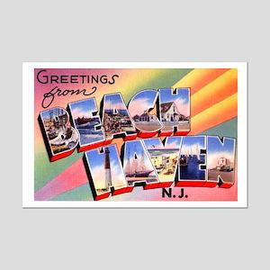 Beach Haven New Jersey Mini Poster Print