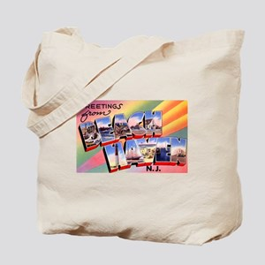 Beach Haven New Jersey Tote Bag