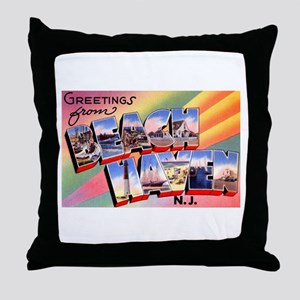 Beach Haven New Jersey Throw Pillow