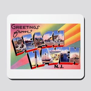 Beach Haven New Jersey Mousepad