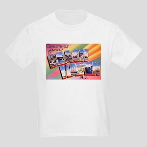 Beach Haven New Jersey (Front) Kids Light T-Shirt