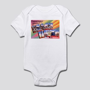 Beach Haven New Jersey Infant Bodysuit