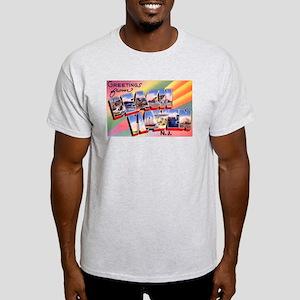 Beach Haven New Jersey (Front) Light T-Shirt