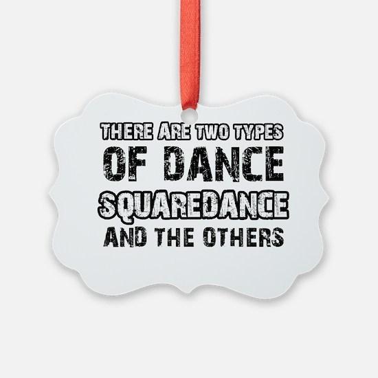 Square dance designs Ornament