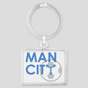 MAN CITY Landscape Keychain