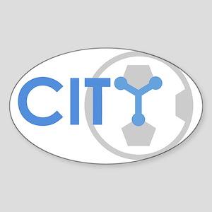 CITY Sticker (Oval)