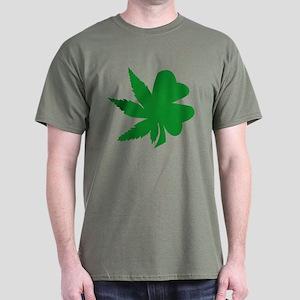 HIRISH! Green Logo Dark T-Shirt