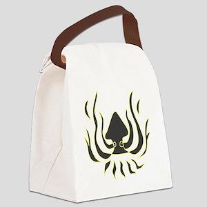 Squid Logo Canvas Lunch Bag