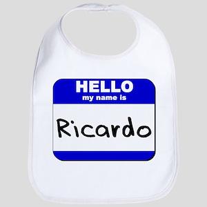 hello my name is ricardo  Bib