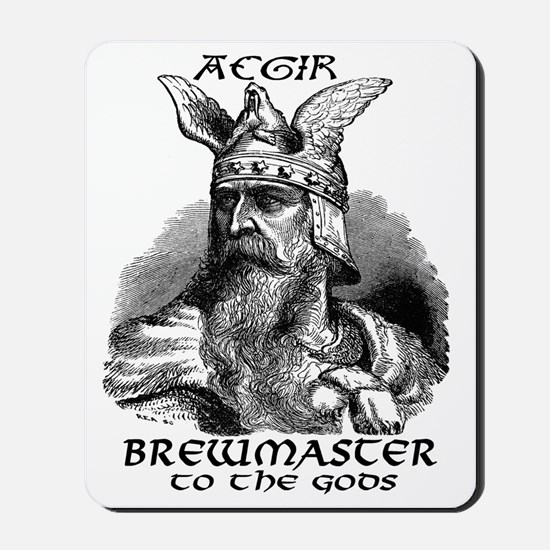 Aegir Viking Brewmaster Mousepad