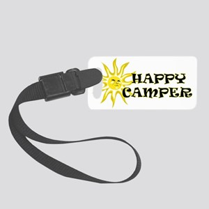 Happy Camper Sunshine Small Luggage Tag