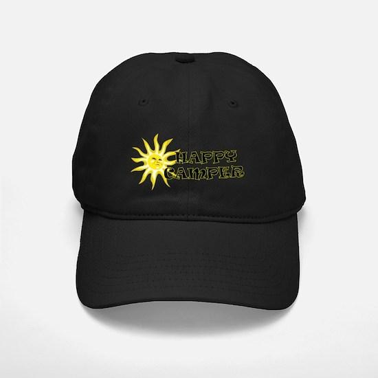 Happy Camper Sunshine Baseball Hat