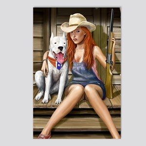 Southern Girl for other c Postcards (Package of 8)