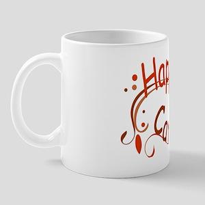 Happy Camper Red Mug