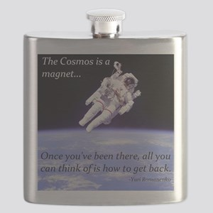 Yuri Romanenko - Cosmos is a magnet Flask