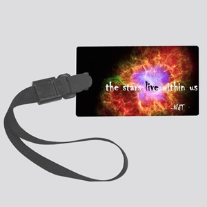 Neil deGrasse Tyson's Stardust Large Luggage Tag