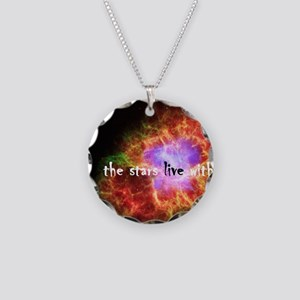 Neil deGrasse Tyson's Stardu Necklace Circle Charm
