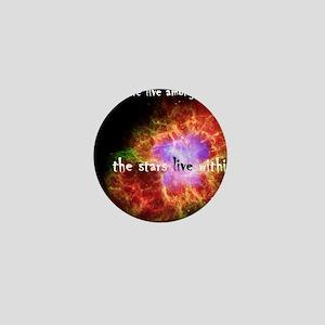 Neil deGrasse Tyson's Stardust Mini Button