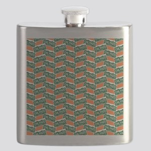 Chilly Water Colorado License Plate Flask