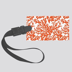 Coral Beach Large Luggage Tag