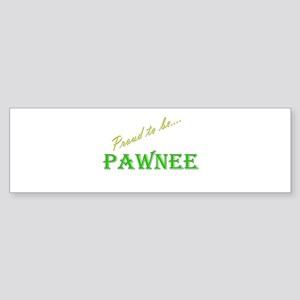 Pawnee Bumper Sticker