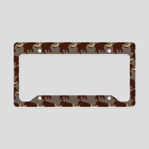 Mammoth Rugged License Plate Holder