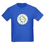 Worth the Wait (Chinese) Kids Dark T-Shirt
