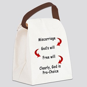 miscarriage Canvas Lunch Bag