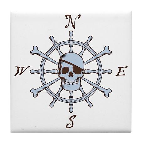 ship-wheel-sk-LTT Tile Coaster