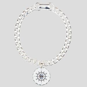 ship-wheel-sk-DKT Charm Bracelet, One Charm