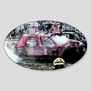 Smokin Hot Sticker (Oval)